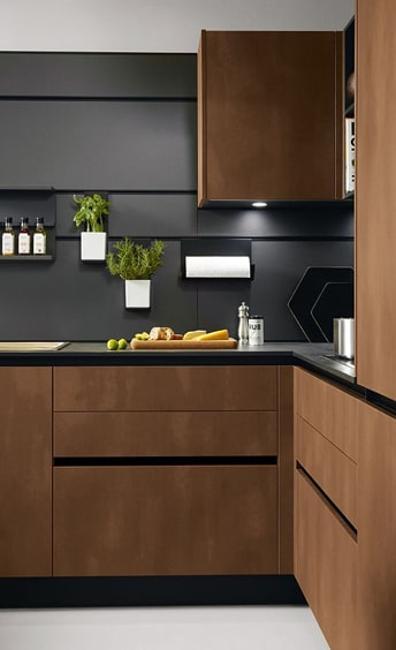 Sleek Contemporary Kitchen Cabinets, Minimalist Handles, Inspiring .