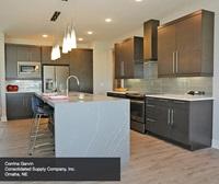 Contemporary Maple Kitchen in Thunder Finish - Kitchen Cra