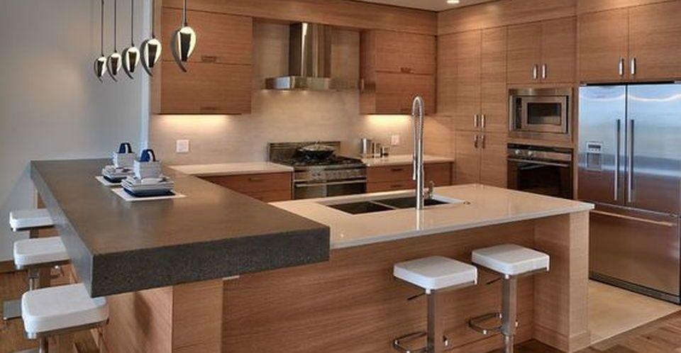 Modern and Contemporary Kitchen Cabinets Design - Rockinde