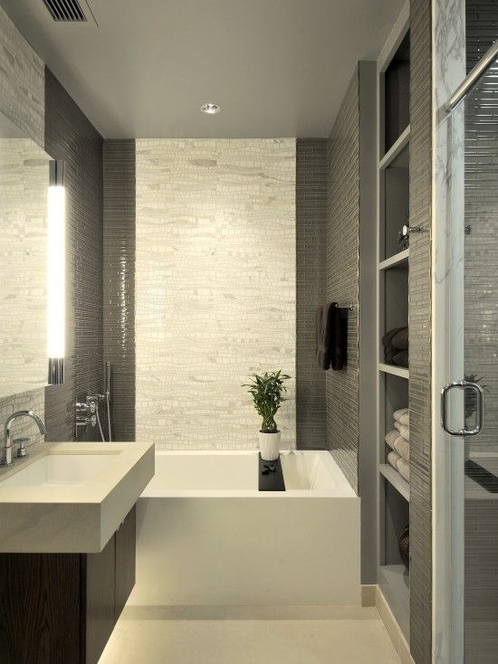Modern Bathroom Small Bathroom Design, Pictures, Remodel, Decor .