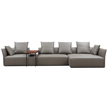 Brand New Leather Modular Sofa Leather Italian Living Room .