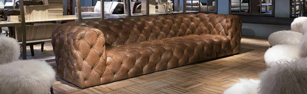 Contemporary Sofas - A Chesterfield kind of Home Déc