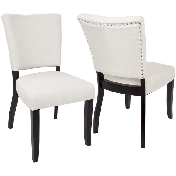 Shop LumiSource Vida Contemporary Upholstered Dining/Accent Chair .