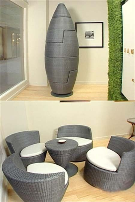 How To Choose Modern Furniture For Small Spaces | Space saving .