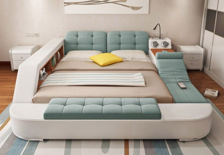This Insanely Super Functional Bed Is One Place You'll Never Want .