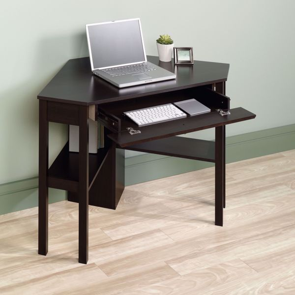 Beginnings Corner Computer Desk Cinnamon Cherry * | 412314 .