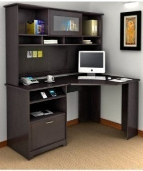 Corner Computer Desk With Hutch For Home - Ideas on Fot