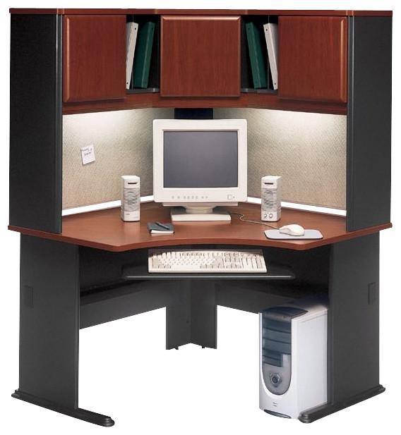 Corner Computer Desk With Hutch