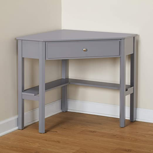 Amazon.com: Target Marketing Systems Ellen Corner Desk with One .