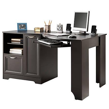 Realspace Magellan Corner Desk Espresso - Office Dep