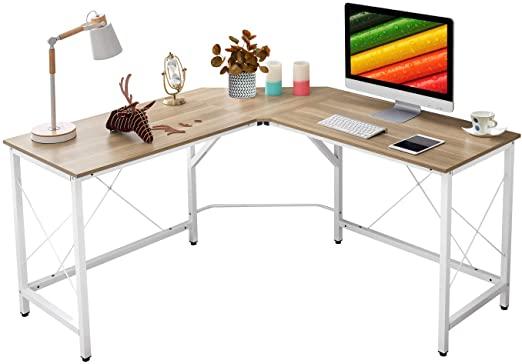 "Amazon.com: Mr IRONSTONE L-Shaped Desk 59"" Computer Corner Desk ."