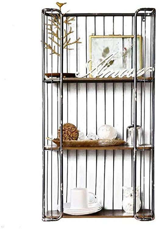 Amazon.com: JiaHome Corner Shelves Corner Shelves Rack Wrought .