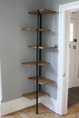 Habitat Corner Shelving Unit / Bookcase | eBay | Shelves, Corner .