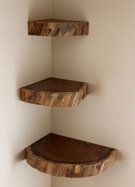 Floating Shelves, Live Edge, Free Shipping (US), Wall Shelves .