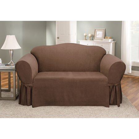 Sure Fit Soft Suede Loveseat Cover – BrickSe