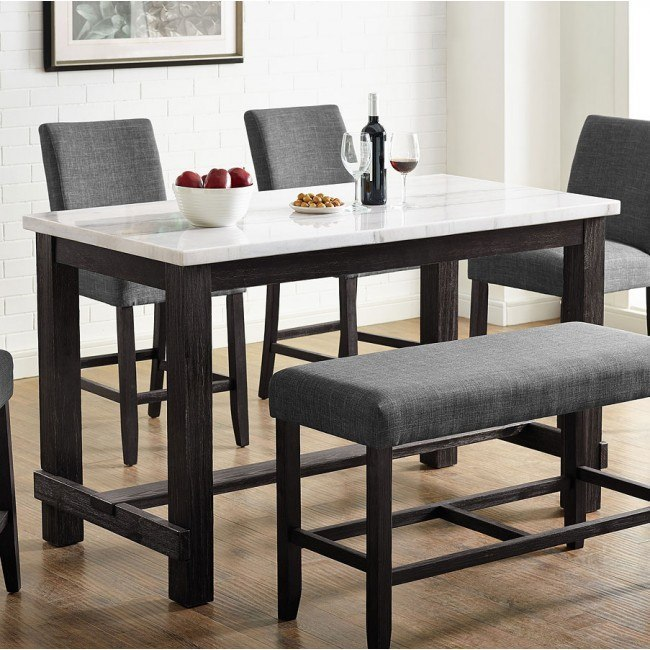 Hemlock Counter Height Dining Table Crown Mark Furniture .