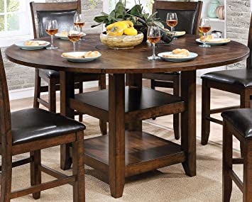 Amazon.com - Furniture of America CM3152RPT Meagan II Round .