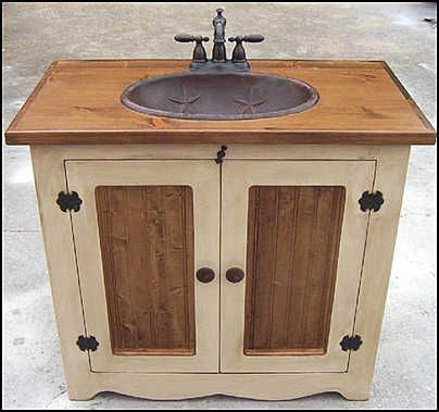 Country Bathroom Vanities | Country bathroom vanities, Glamorous .