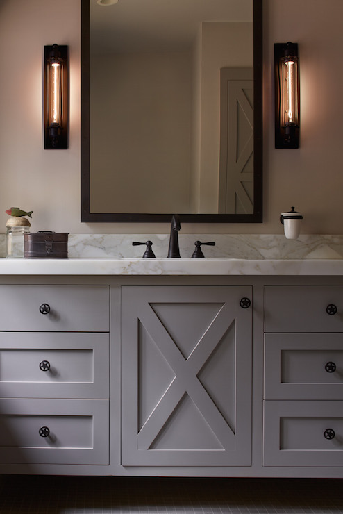 X Bathroom Vanity - Country - Bathroom - Artistic Designs for Livi
