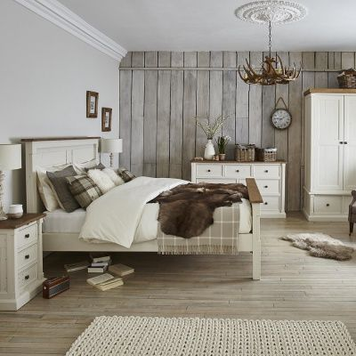 The delightful Aurora Bedroom Range offers a relaxed, country .