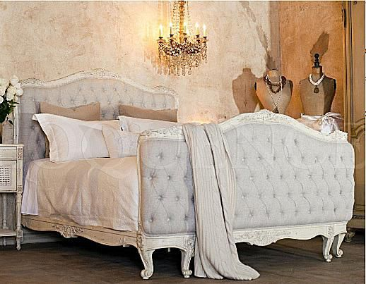 French Country Bedroom Sets and Headboar