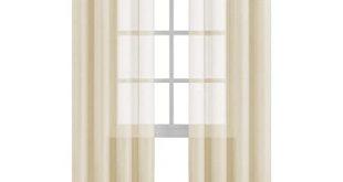 Cream Curtain: Amazon.c