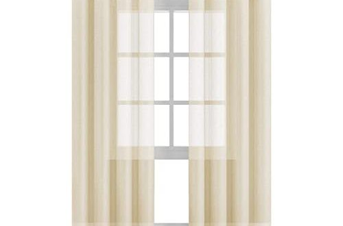 Cream Curtain: Amazon.c