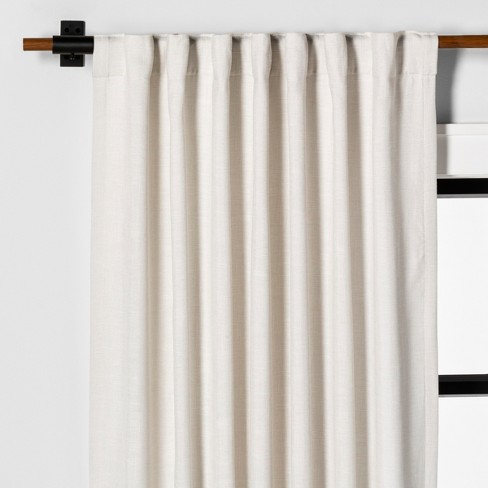 Curtain Panel Solid Sour Cream - Hearth & Hand™ With Magnolia : Targ