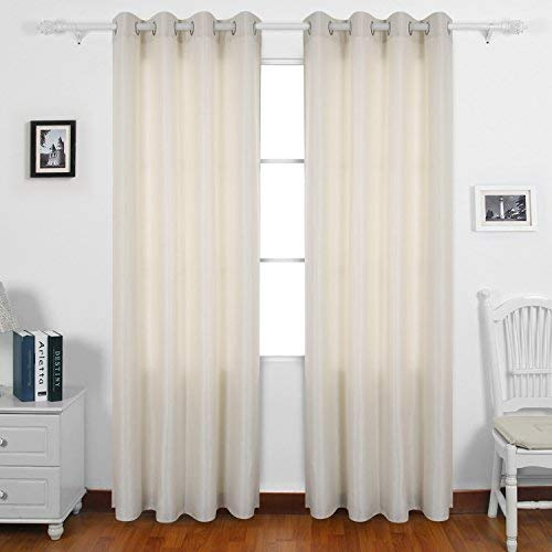 Cream Living Room Curtains: Amazon.c