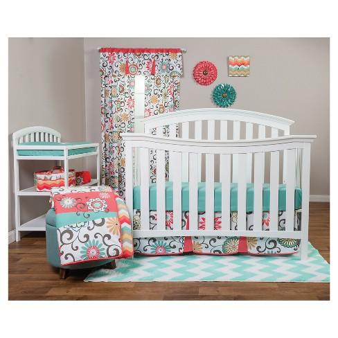 Waverly Baby By Trend Lab 3pc Crib Bedding Set – Pom Pom Play : Targ