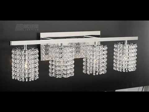 Crystal Bathroom Vanity Lights - YouTu