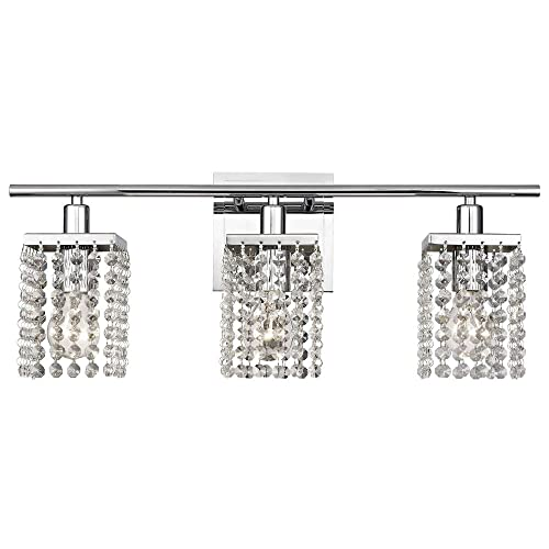 Crystal Bathroom Light Fixtures: Amazon.c