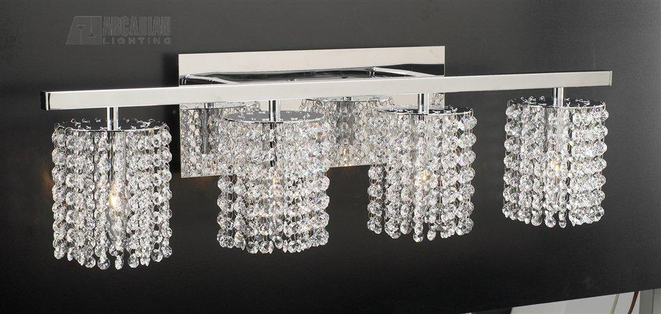 PLC Lighting 72196 Rigga Modern / Contemporary Crystal Bathroom .