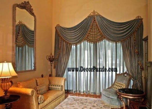 royal curtains designs, luxury classic curtains and drapes 2015 .