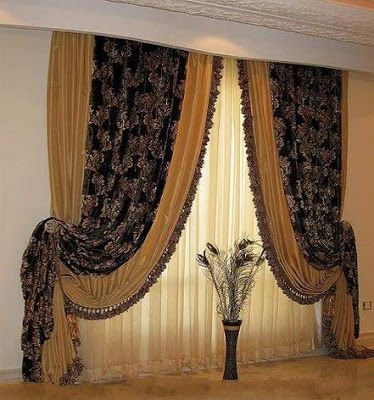 The best types of curtains and curtain design styles 2019, luxury .