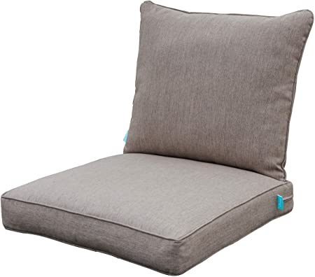 Amazon.com : QILLOWAY Outdoor Chair Cushion Set, Outdoor Cushions .