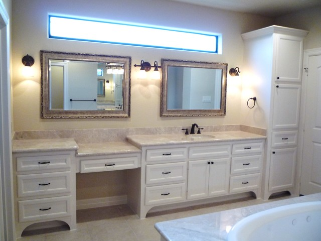 Custom Bathroom Cabinets & Vanities - Traditional - Bathroom .