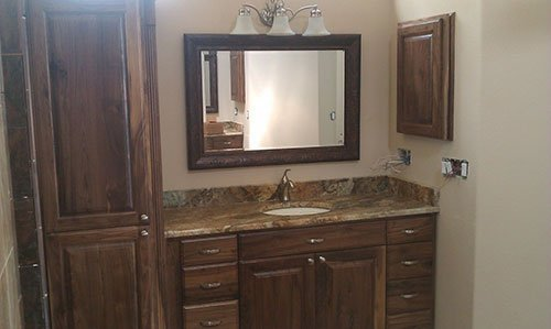Bathroom Custom Cabinets | Bathroom Custom Cabinet Contractor San .
