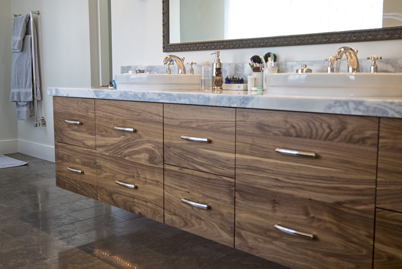 Custom Baths | Tree City Woodworking | Custom Cabinetry and Furnitu