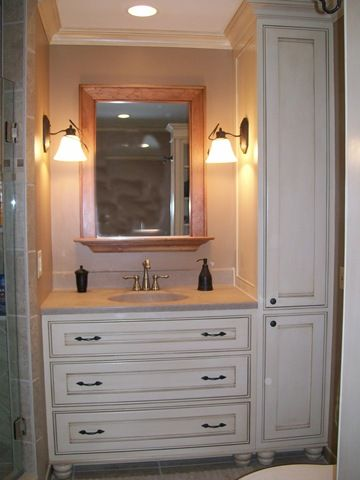 Bathroom Cabinets | ... Custom Bathroom Cabinets & Vanities .