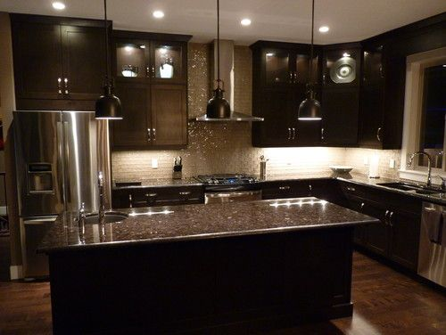 Custom Kitchen - contemporary - kitchen cabinets - other metro .
