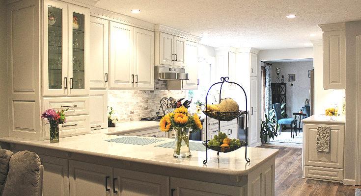 Custom Bone White Kitchen - Fairview, PA - Fairfield Custom Kitche