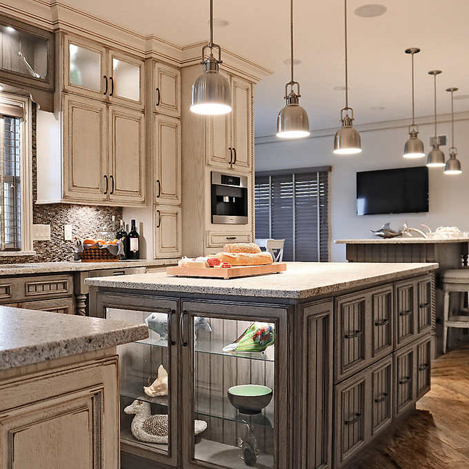 Full-Custom Cabinets by Tuscan Hills Kitchens & BathsShips in .