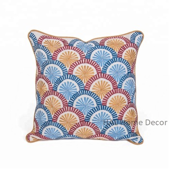 Cushion Covers Decorative Sofa Back Support Cushion Embroidered .