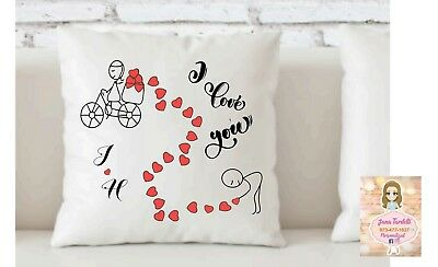 Personalized Cushion Cover Pillow Case Printed Custom Made Print .