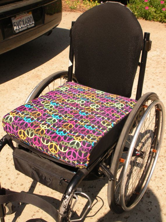 Wheelchair cushion covers custom made, $36 @ etsy. >>> See it .