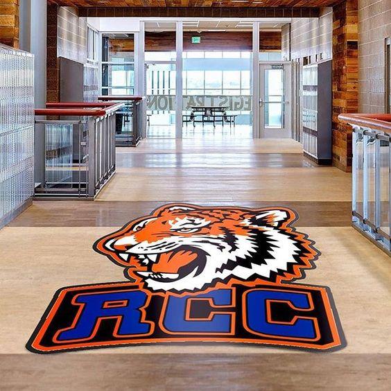 Custom Shaped Logo Rugs - Rug Rats - Best Custom Ru