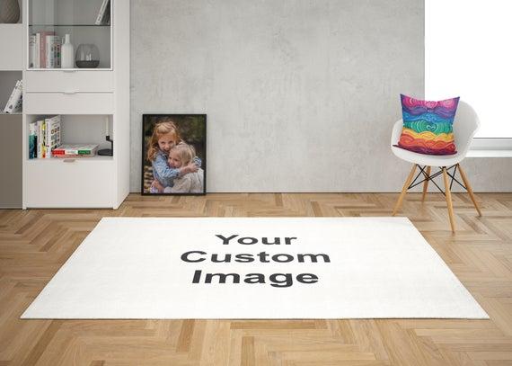Custom Rug custom image rugs your photo rug personalised rug | Et