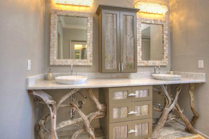 33 Stunning Rustic Bathroom Vanity Ideas - Remodeling Expen