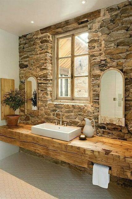 30+ Best Ideas About Rustic Bathroom Vanities You'll Lo